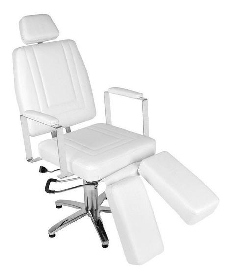 Cadeira De Podologia Roma Reclinável Pigmentação E Maquiagem