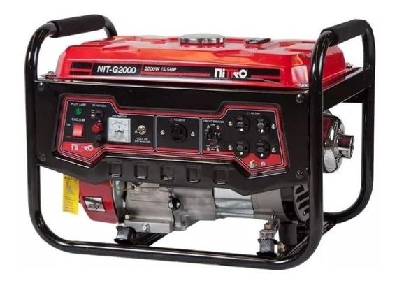 Generador Gln 4 Tiempos, 5.5 Hp, 120/220v, 60hz Nit-g2000