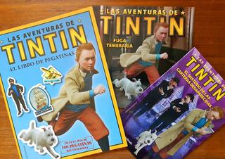Las Aventuras De Tintin - Promo X 3 Libros