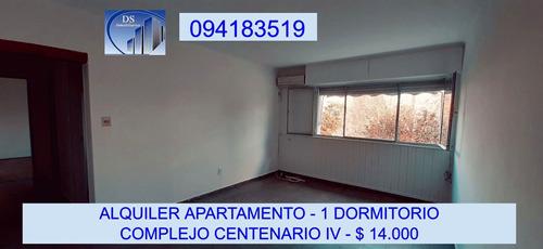 Alquiler Apto. 1 Dormitorio - Complejo Centenario Iv