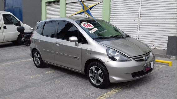 Honda Fit Lx 1.4 Flex Completo + Couro 2008 $ 23590 Financia
