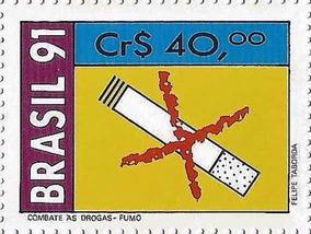 Postale Campanha Contra Fumo Zignauko