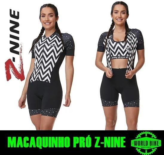 Macaquinho Z-nine Pro Preto/branco