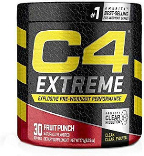 C4 Extreme Cellucor 30 Doses Sabor Fruit Punch - 192 G