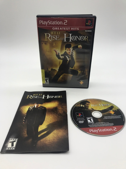 Jet Li Rise To Honor Playstation 2 Original Americano