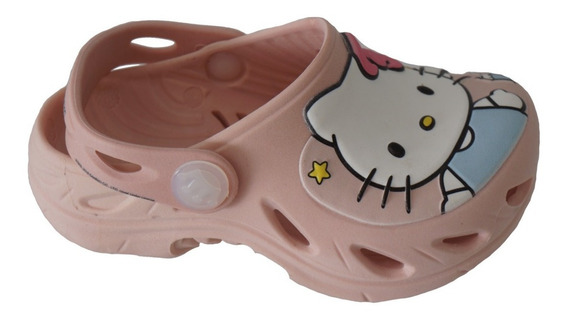 Babuche Infantil Plugt Ventor Hello Kity - Blush