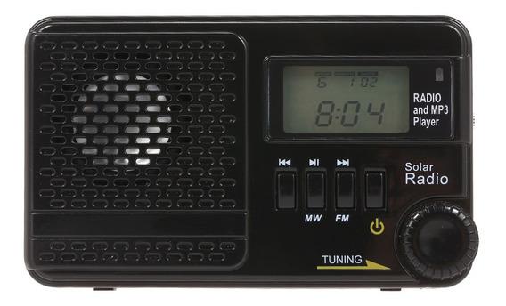 Receptor De Rádio Digital De Banda Dupla Portátil Mw/fm Digi