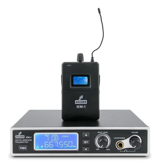 Monitor Sem Fio De Palco Arcano Iem-1 Ponto Fone De Ouvido
