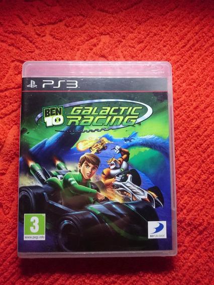 Ben 10 Galactic Racing Ps3 Midia Fisica Frete R$10