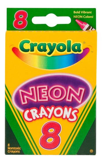 Crayones Neon Crayola X8