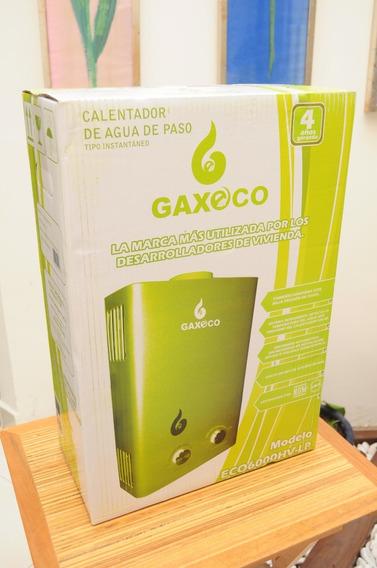 Calentador De Paso Gaxeco6000hv Lp O Natural+kit Instalación
