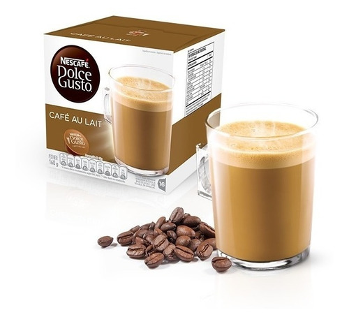 Cápsulas Dolce Gusto Nescafé - Café Con Leche