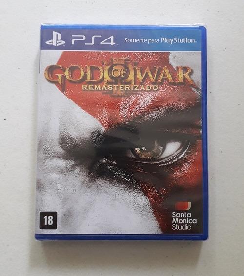 God Of War 3 Ps4 Português Mídia Física Novo Lacrado Jogo