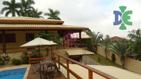 Casa Com 3 Dormitórios À Venda, 400 M² Por R$ 1.000.000 - Paraíso De Igaratá - Igaratá/sp - Ca0115