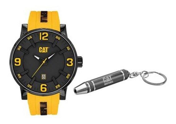 Reloj Análogo Marca Caterpillar Modelo: Nj16127137set1 Color