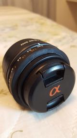 Lente Sony 50mm 1.8