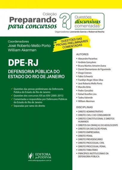 Defensoria Publica Do Estado Do Rio De Janeiro Dpe Rj - Jusp