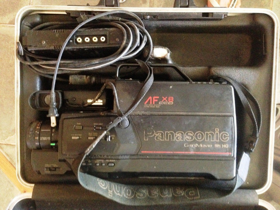 Filmadora Antiga Panasonic Af X8 Vhs