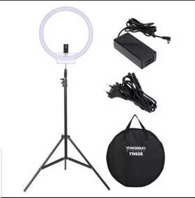 Iluminador Ring Light Yongnuo Yn608 + Tripe