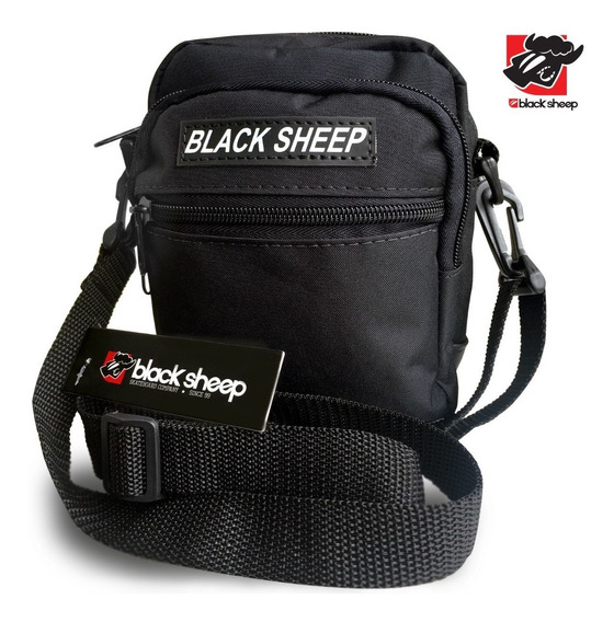 Shoulder Bag Preta - Black Sheep Original