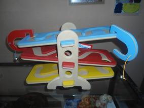 Rola Bolinha De Madeira Top Toy Brinquedo Educativo