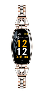 Reloj Pulsera Inteligente H8 Impermeable Tipo Ip67 P/mujer