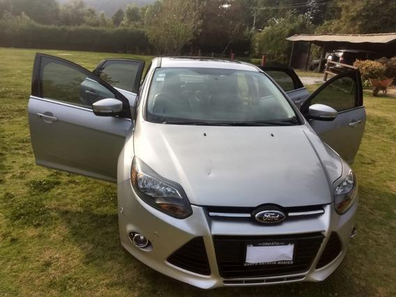 Ford Focus 2.0 Titanium Plus At 2013 Versión Mas Equipada