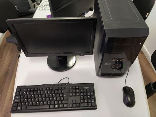 Máquinas Icc Cpu Intel Atom 2gb Com Monitor Teclado E Mouse