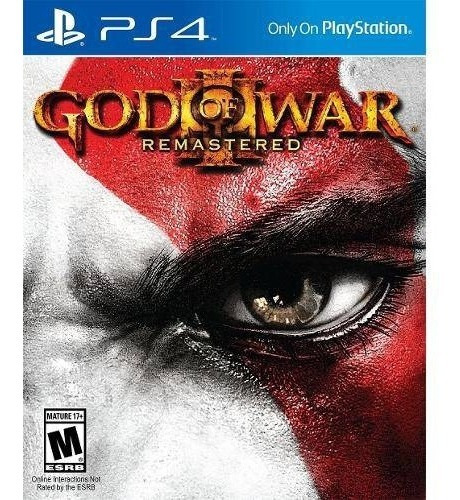 God Of War 3 Remasterizado Playstation 4 Original Usado