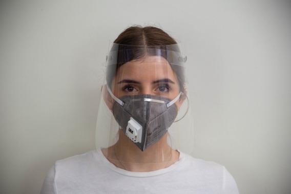 Mascara Fascial Preventiva Cubrecara Protectora Calidad Petg