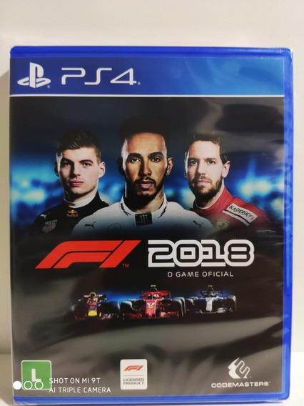 Formula 1 2018 Ps4 Mídia Física Lacrado Promoção