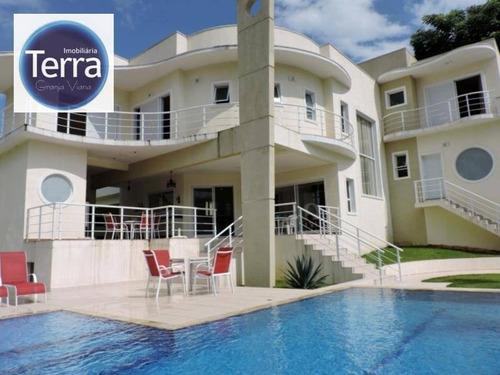 Casa Com 4 Dormitórios À Venda, 620 M² Por R$ 2.500.000,00 - Jardim Colonial - Carapicuíba/sp - Ca0765