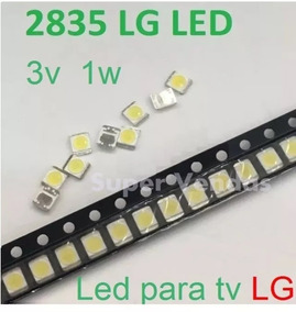 Led 2835-3v 1w Lote Com 20 Unid Original Tv