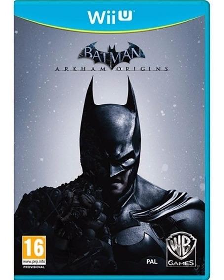 Jogo Novo Lacrado Batman Arkham Origins Nintendo Wii U