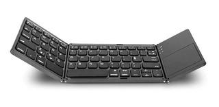 Teclado Bluetooth Plegable Pad Mouse Almohadilla Táctil