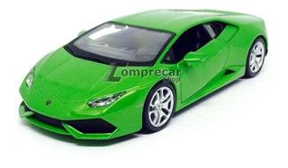 Miniatura Lamborghini Huracán Lp 610-4 Verde Maisto 1/24