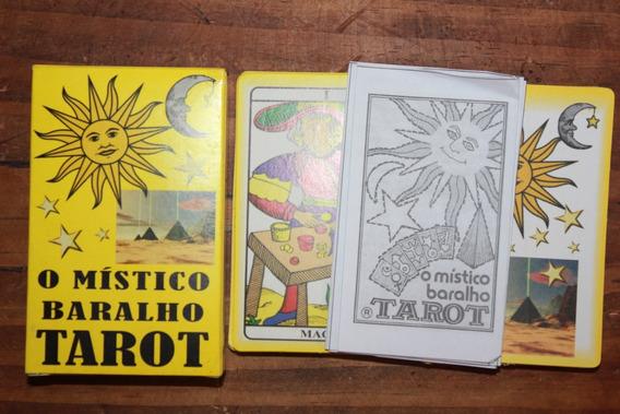 Tarôt Baralho Místico - Jogo De Tarô - Adivinhação - Cartas