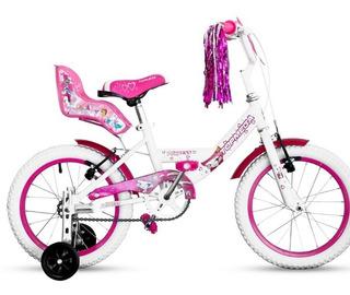 Bicicleta R16 Princess Niños Topmega Armada