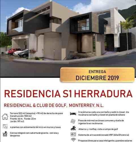 Casa En Residencial Y Club De Golf La Herradura Etapa B, Monterrey