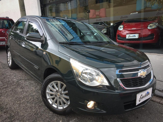 Chevrolet Cobalt 1.4 Ltz Manual Verde - 2014