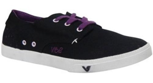 30% Off Tenis Vibe Breeze Preto/violeta Skateboard - Mostrua