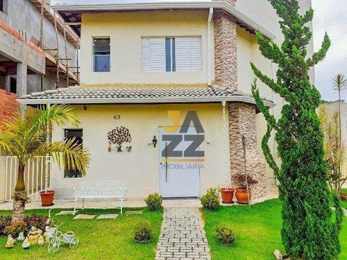 Imagem 1 de 29 de Casa Em Condomínio Com 3 Quartos À Venda, 150 M² Por R$ 829.000 - Condomínio Terras De Atibaia I - Atibaia/sp - Ca14392