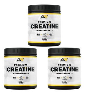 3x Creatina 300g - Gs Nutrition