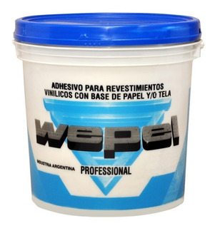 Pegamento Wepel Profesional 10 Kg Adhesivo Para Papel Cuotas