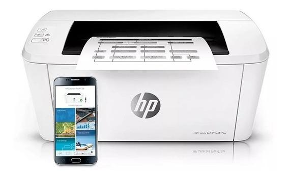 Impresora Laser Mono Hp M15w 19ppm Usb Wifi Tienda 170v