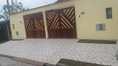 669-linda Casa Nova Á Venda No Bairro Gaivota - Itanhaém