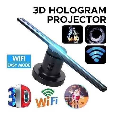 Holograma Projetor Kit 2 Unidades 3d Com Wi-fi Lançamento Pr