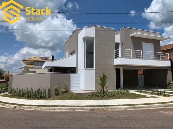 Casa Nova À Venda No Condomínio Quinta Das Atírias, Bairro Eloy Chaves Em Jundiaí/sp. - Ca01475