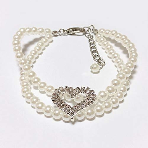 Petfavorites Collar De Collar De Perlas Para Perros De 2 Fil