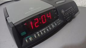 Rádio Relógio General Electric 4890 - Despertador - Só 110 V